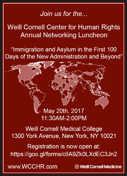 WCCHR Annual Networking Luncheon 2017